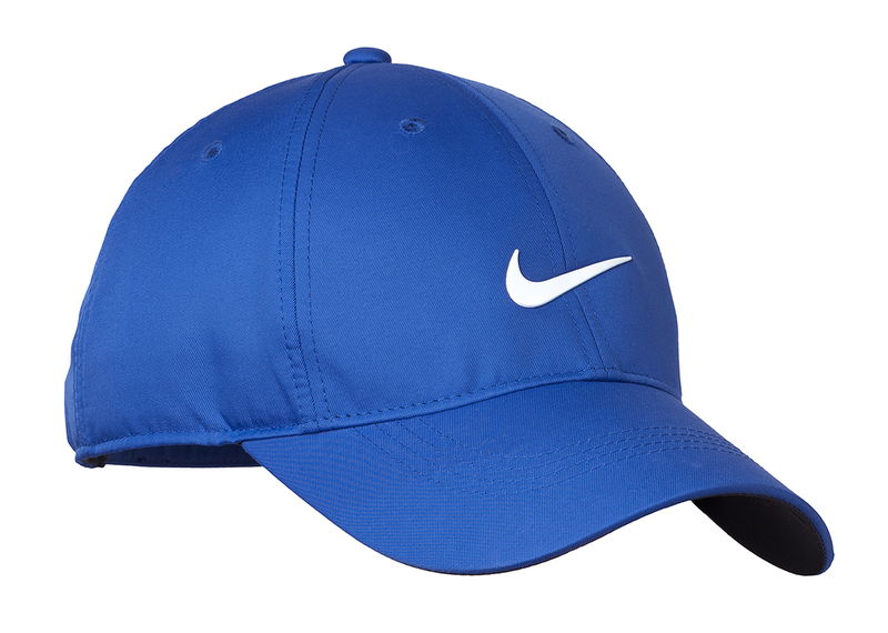 Nike Golf Dri-FIT Swoosh Front Cap - Game Royal/White