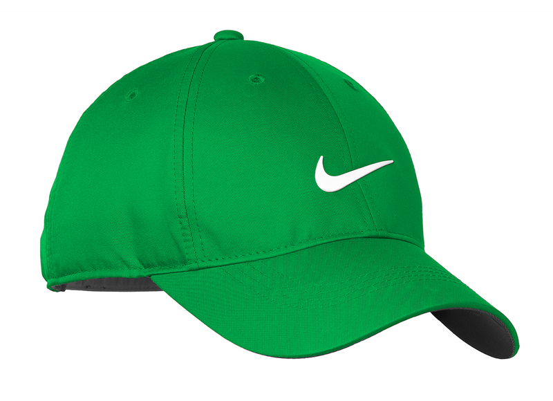 Nike Golf Dri-FIT Swoosh Front Cap - Lucky Green/White