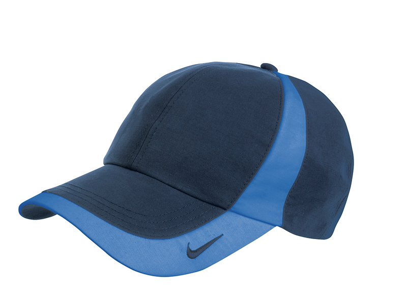 NIKE DRI-FIT TECHNICAL COLORBLOCK CAP - Navy/Pacific Blue