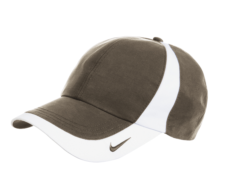 NIKE DRI-FIT TECHNICAL COLORBLOCK CAP - Olive Khaki/White