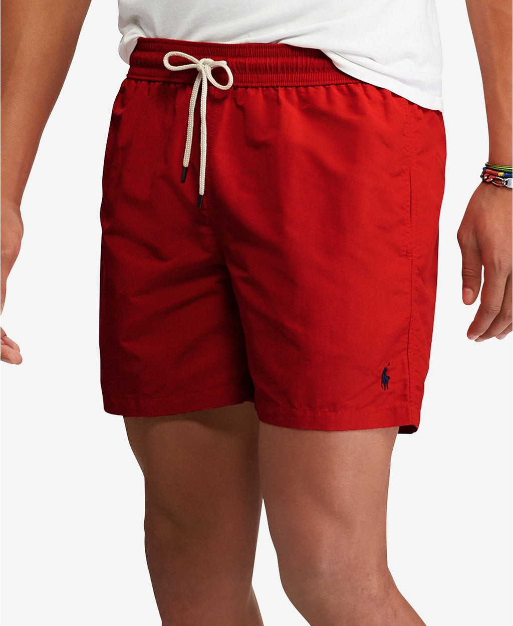 POLO RALPH LAUREN TRAVELER SWIM TRUNK - RL 2000 RED