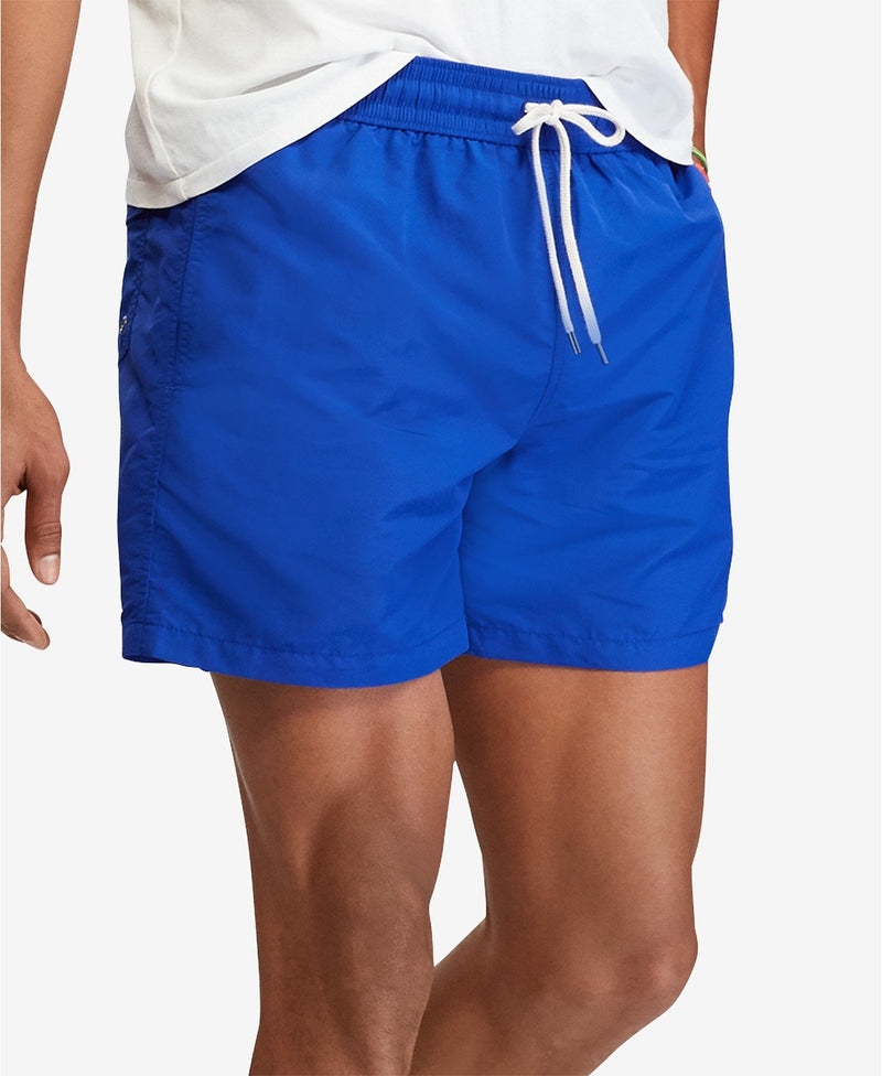 POLO RALPH LAUREN TRAVELER SWIM TRUNK - RUGBY ROYAL