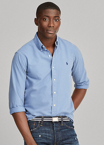 POLO RALP LAUREN GARMET- DYED OXFORD SHIRT