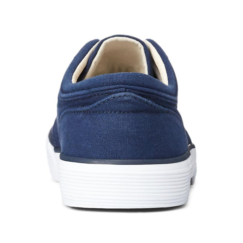 POLO RALPH LAUREN FAXON LOW WASHED CANVAS SNEAKER