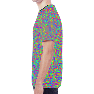 Neuron Stimulator New All Over Print T-shirt for Men (Model T45)