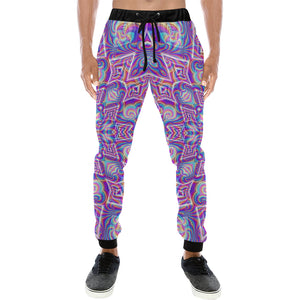 Delicate Men's All Over Print Sweatpants (Model L11)
