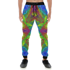 Paradise Men's All Over Print Sweatpants (Model L11)