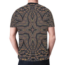 Elemental Earth New All Over Print T-shirt for Men (Model T45)