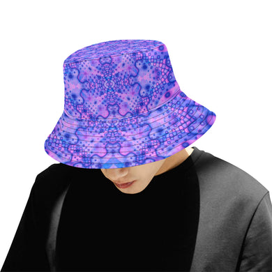 Lavender Dreaming All Over Print Bucket Hat for Men