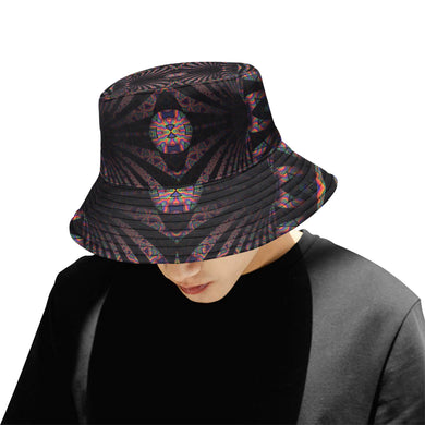 Hidden Place All Over Print Bucket Hat for Men