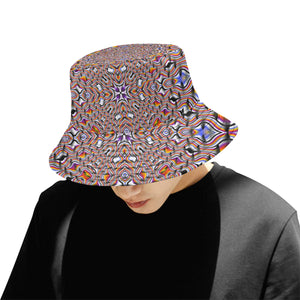 Ripples All Over Print Bucket Hat for Men