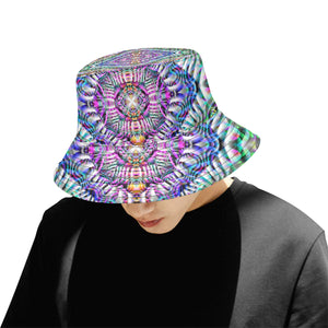 Coral Reefer All Over Print Bucket Hat for Men