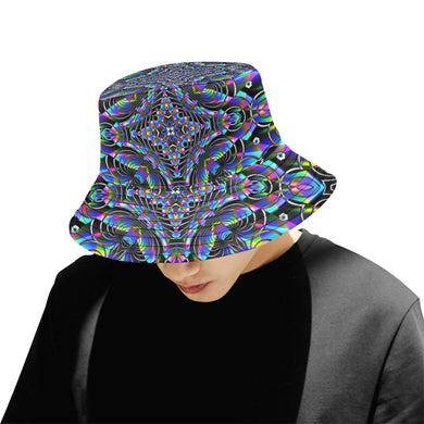 Luminous All Over Print Bucket Hat for Men