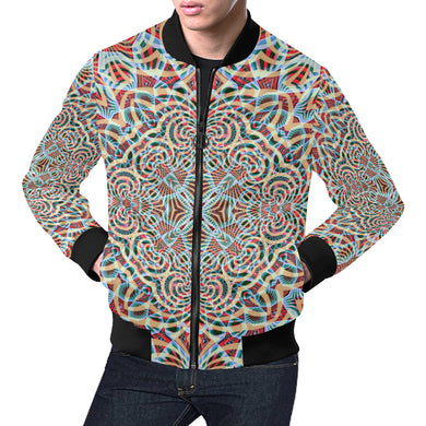 A Warm Place All Over Print Bomber Jacket for Men (Model H19)