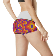 Pure Power Women's All Over Print Yoga Shorts (Model L17)