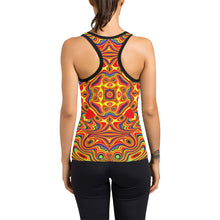 Samsara Women's Racerback Tank Top (Model T60)