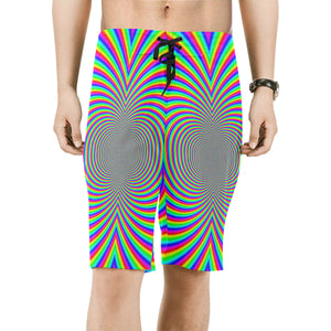 Hypnotizer Men's All Over Print Board Shorts (Model L16)