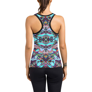 Inner Palace Women's Racerback Tank Top (Model T60)