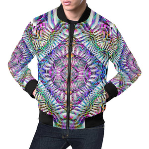 Coral Reefer All Over Print Bomber Jacket for Men (Model H19)