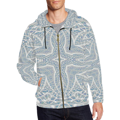 Elemental Air All Over Print Full Zip Hoodie for Men (Model H14)