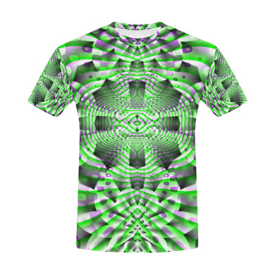 Mystic Motions All Over Print T-Shirt for Men (USA Size) (Model T40)