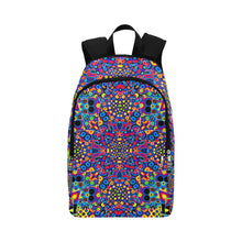 Alien Flora Fabric Backpack for Adult (Model 1659)