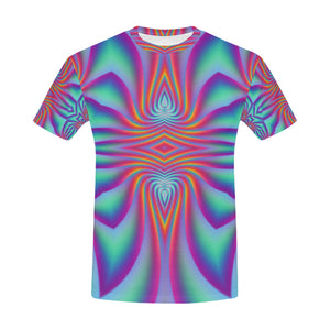 Spiral Factory All Over Print T-Shirt for Men (USA Size) (Model T40)