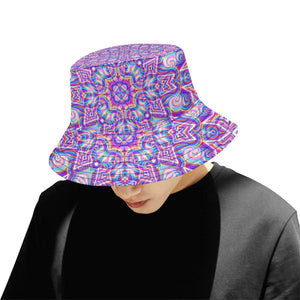 Delicate All Over Print Bucket Hat for Men
