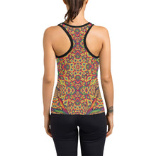 Beauty in Chaos Women's Racerback Tank Top (Model T60)