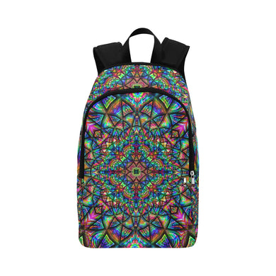 Meditative Thoughts Fabric Backpack for Adult (Model 1659)
