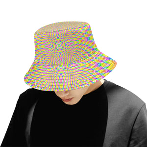 Lightfield All Over Print Bucket Hat for Men