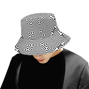 Fiber Optics All Over Print Bucket Hat for Men