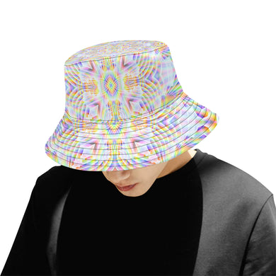 Pure Love All Over Print Bucket Hat for Men