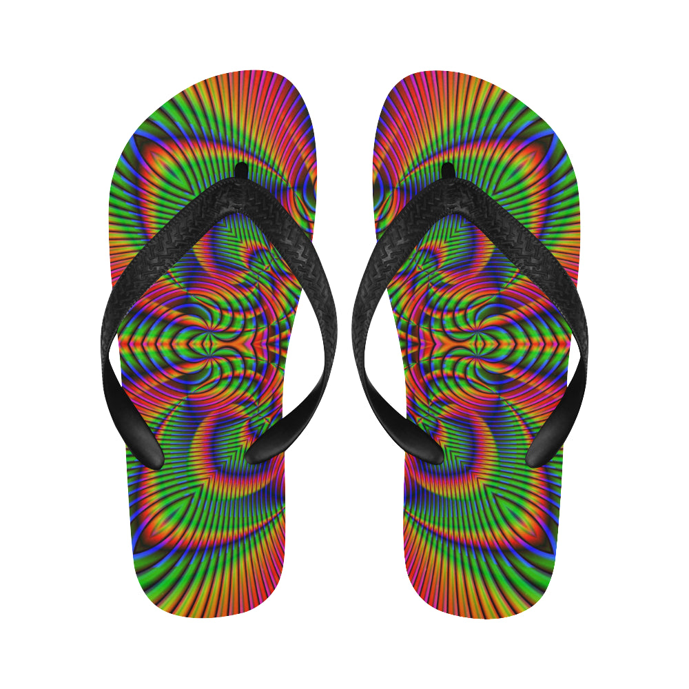 Tropical Flip Flops for Men/Women (Model 040)