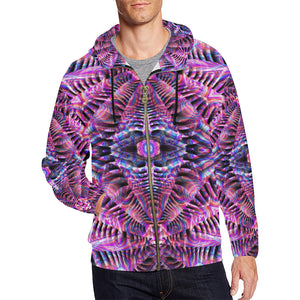 Being All Over Print Full Zip Hoodie for Men (Model H14)