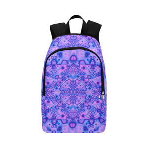 Lavender Dreaming Fabric Backpack for Adult (Model 1659)