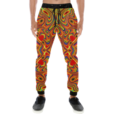 Samsara Men's All Over Print Sweatpants (Model L11)