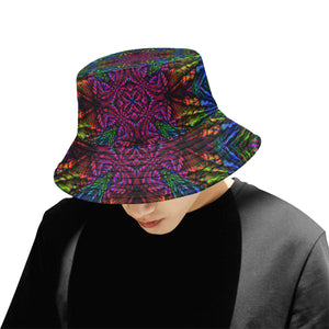 Subtropics All Over Print Bucket Hat for Men
