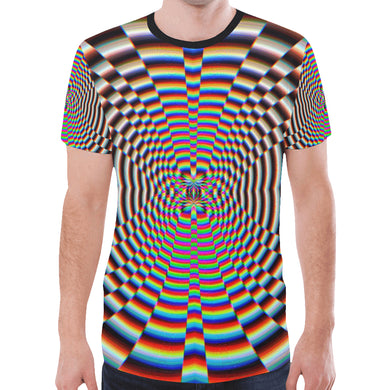 Psychosis New All Over Print T-shirt for Men (Model T45)
