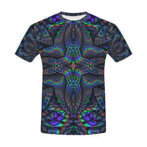 Elemental Water All Over Print T-Shirt for Men (USA Size) (Model T40)