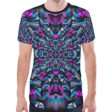 Turbulence New All Over Print T-shirt for Men (Model T45)