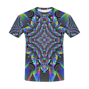 Luminous All Over Print T-Shirt for Men (USA Size) (Model T40)