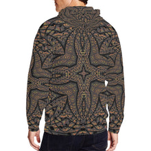 Elemental Earth All Over Print Full Zip Hoodie for Men (Model H14)