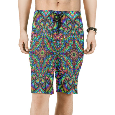 Meditative Thoughts Men's All Over Print Board Shorts (Model L16)