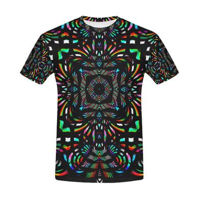 Cathedral All Over Print T-Shirt for Men (USA Size) (Model T40)
