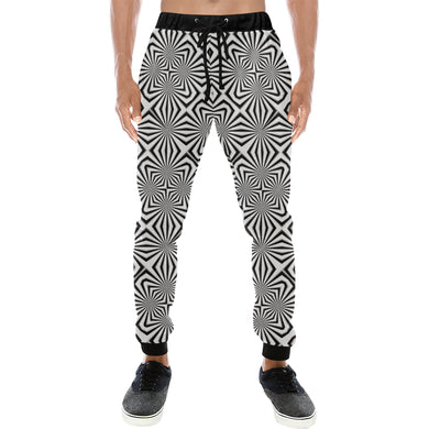 Fiber Optics Men's All Over Print Sweatpants (Model L11)