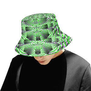 Mystic Motions All Over Print Bucket Hat for Men