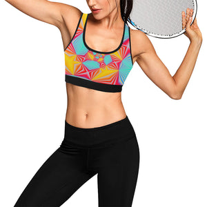 Vortex Women's All Over Print Sports Bra (Model T52)