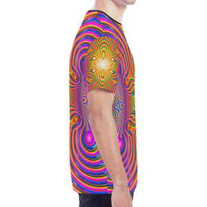 Energy Fields New All Over Print T-shirt for Men (Model T45)