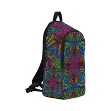 Subtropics Fabric Backpack for Adult (Model 1659)